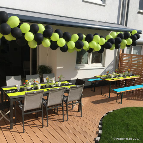 gartenparty zum 30 geburtstag buffet candybar deko co papierfee zauberhaftes aus papier. Black Bedroom Furniture Sets. Home Design Ideas